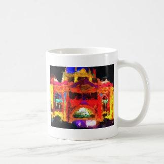 Abstract Flinders street station Coffee Mugs