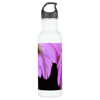 Abstract Flora Water Bottle