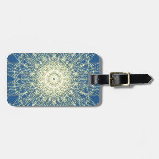Abstract floral Abstrato floral Bag Tags