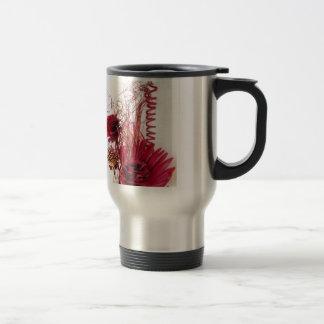 Abstract Floral Arrangement Photo Travel Mug
