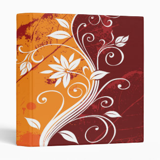 Abstract Floral Binder