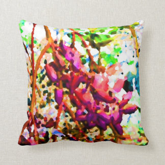 abstract floral cactus flowers invert pink.jpg pillow