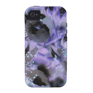 Abstract Floral Case For The iPhone 4