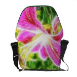 Abstract Floral Commuter Bag