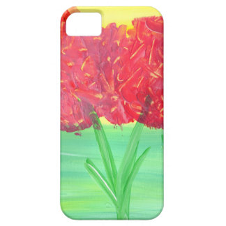 Abstract Floral Design from Original Painting iPhone 5 Case