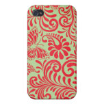 abstract floral iPhone 4/4S cases