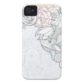 Abstract Floral iPhone 4s Case iPhone 4 Case
