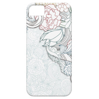 Abstract Floral iPhone 5 Case