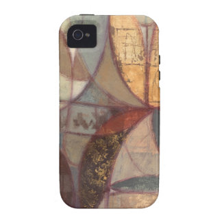 Abstract Floral Leaf Painting by Norman Wyatt Vibe iPhone 4 Covers