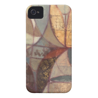 Abstract Floral Leaf Painting by Norman Wyatt iPhone 4 Case-Mate Cases