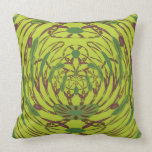 Abstract Floral Luxury Cushion Throw Pillows