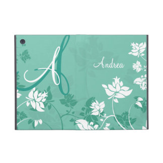 Abstract Floral Monogram Cases For iPad Mini