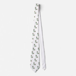 Abstract Floral Ornament 3 Neck Tie
