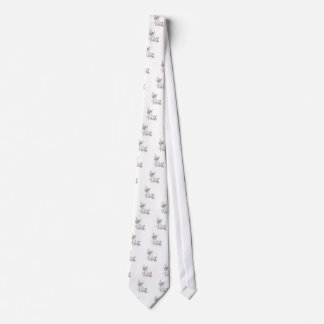 Abstract Floral Ornament 4 Tie