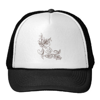 Abstract Floral Ornament 4 Trucker Hat