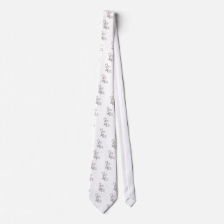 Abstract Floral Ornament Neck Tie