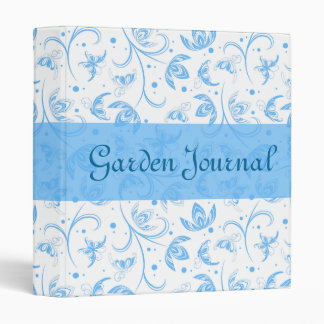 Abstract Floral Pattern Binder