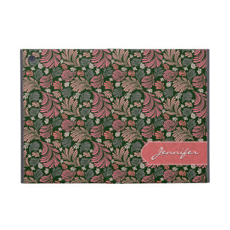 Abstract Floral Pattern Girly Folio Cover For iPad Mini