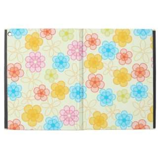 """Abstract Floral Pattern iPad Pro 12.9"""" Case"""