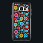 "Abstract Floral Pattern OtterBox Samsung Galaxy S7 Edge Case<br><div class=""desc"">Abstract Floral Pattern Samsung Galaxy S7 Otterbein Edge Case.</div>"