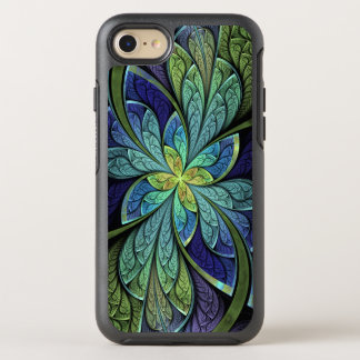 Abstract Floral Stained Glass La Chanteuse IV OtterBox Symmetry iPhone 7 Case