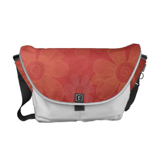 Abstract Floral Surprise Courier Bags