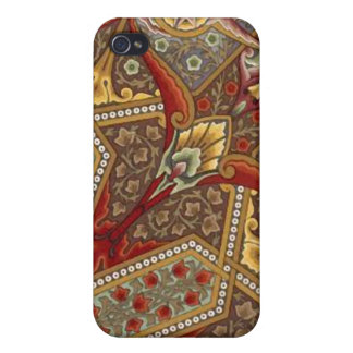 Abstract floral Vintage luxury Pattern iPhone Case iPhone 4 Case