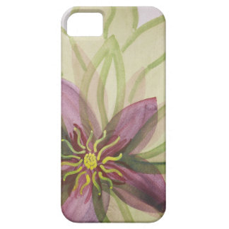Abstract floral watercolor iPhone SE/5/5s case
