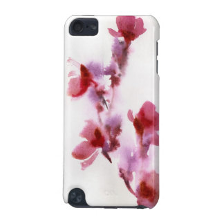 Abstract floral watercolor paintings 3 iPod touch 5G case