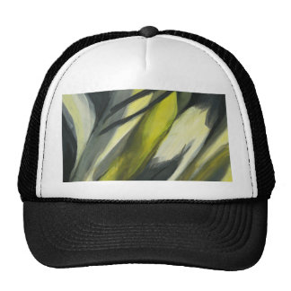 Abstract Flow - Yellow Grey Cap