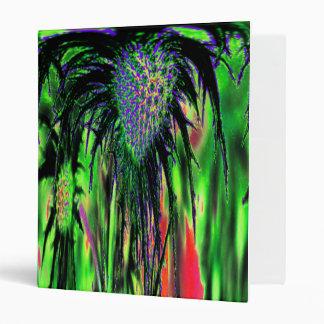 Abstract Flower Binder