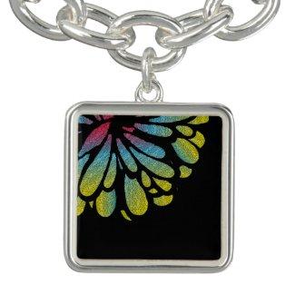 Abstract Flower Bracelets