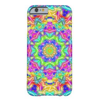 Abstract Flower Bright Kaleidoscope Barely There iPhone 6 Case