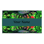 Abstract Flower Business Card Template