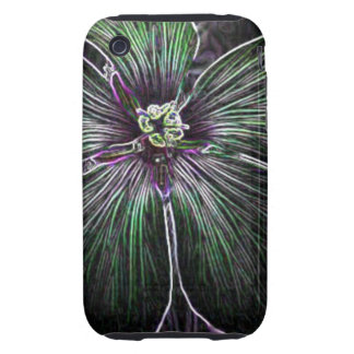 Abstract Flower Tough iPhone 3 Cases