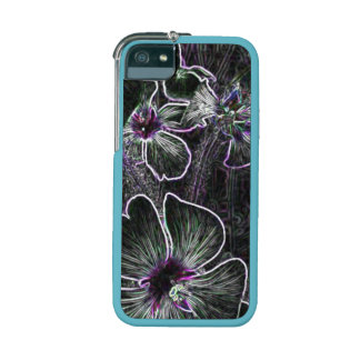 Abstract Flower Cover For iPhone 5