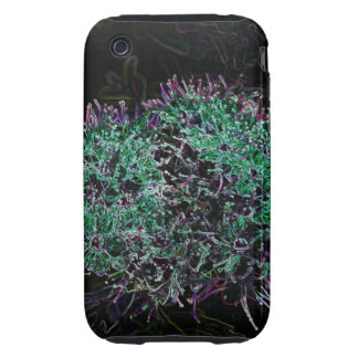 Abstract Flower iPhone 3 Tough Case