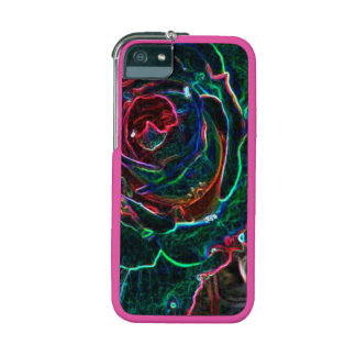 Abstract Flower Case For iPhone 5