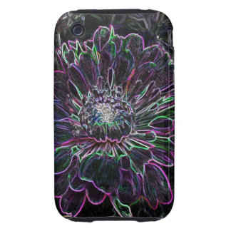 Abstract Flower iPhone 3 Tough Cases