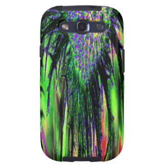 Abstract Flower Galaxy S3 Covers