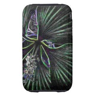 Abstract Flower Tough iPhone 3 Cover