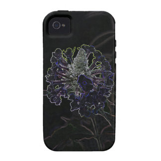 Abstract Flower Vibe iPhone 4 Case
