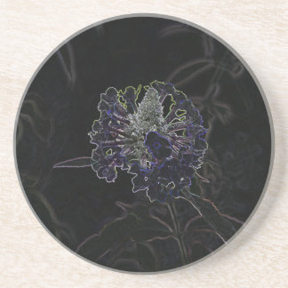 Abstract Flower Drink Coaster
