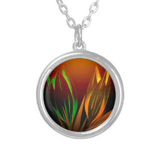 Abstract Flower Colours Of The Tulip Pendant
