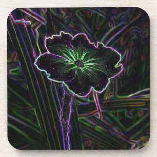 Abstract Flower Drink Coasters