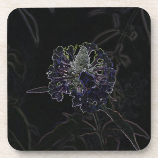 Abstract Flower Coasters