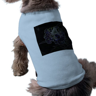 Abstract Flower Pet Tshirt
