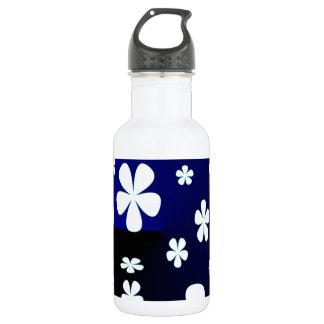 Abstract Flower Flower Pattern 18oz Water Bottle