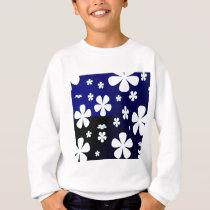 Abstract Flower Flower Pattern Sweatshirt