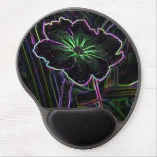 Abstract Flower Gel Mouse Mats